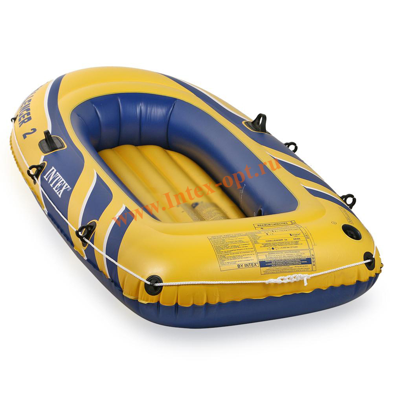 лодка надувная challenger 2 236х114х41см