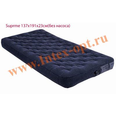 INTEX 66724 Полутороспальный надувной матрас Supreme 137х191х23см (без насоса)