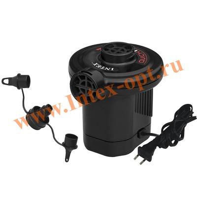 INTEX 66620 Электрический воздушный насос Quick-Fill AC Electric Pump, 220В