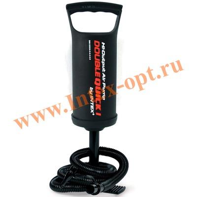 INTEX 68612 Ручной воздушный насос Double Quick 1 Hand Pump (29 см)