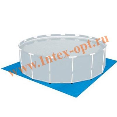 INTEX 28048(58932) Подстилка для бассейнов диаметром 244/305/366/457 см