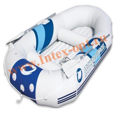 BestWay 65044 Надувная лодка Marine Pro 297х147х46 см (ручной насос, алюминиевые весла)