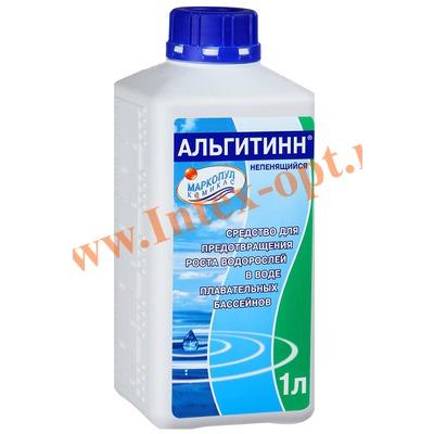 Маркопул Кемиклс (Россия) Альгитинн быстродействующее средство для уничтожения водорослей и слизи 1 л.(не пенящийся)