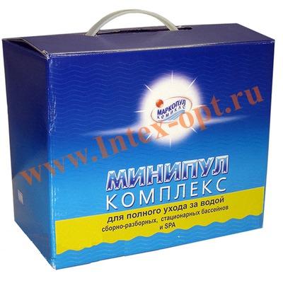 Маркопул Кемиклс (Россия) Минипул комплекс 5,5 кг (набор для ухода за водой в плавательных бассейнах)