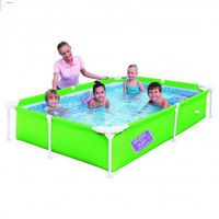 Детский каркасный бассейн 221х150х43 см. Bestway