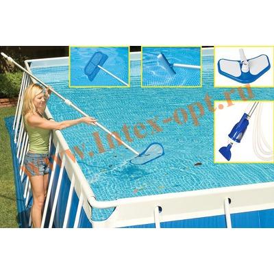 INTEX 28003(58959) Набор для очистки бассейнов DELUXE
