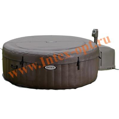 INTEX 28422 Надувной гидромассажный бассейн джакузи Jet Massage 4 массажные форсунки 196х71см