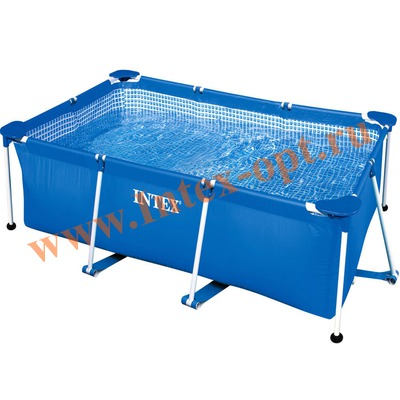 INTEX 28271(58980) Бассейн с металлическим каркасом 260х160х65 см
