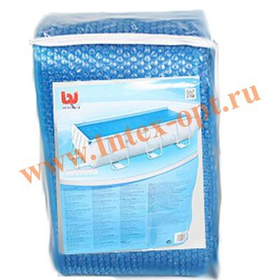 BestWay 58254 Тент солнечный для прямоугольных каркасных бассейнов 671х366х132 см