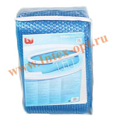 BestWay 58155 Тент солнечный для овальных каркасных бассейнов с надувным кольцом 549х366х122 см