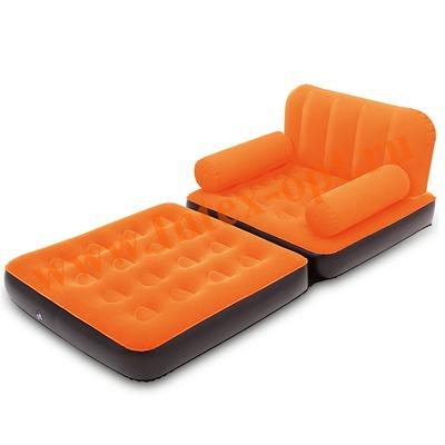 BestWay 67277 Оранжевое кресло-трансформер 191х97х64 см (без насоса)