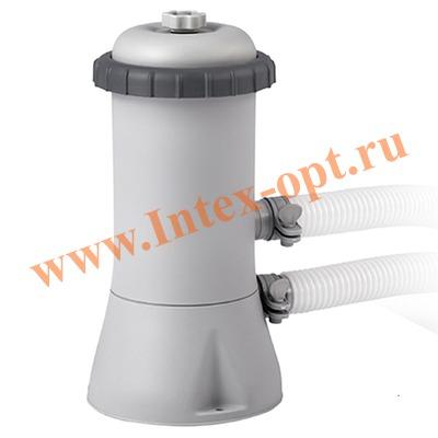 INTEX 28638(56638) Картриджный фильтр-насос для очистки воды плавательных бассейнов 3785 л/ч, 220-240 В