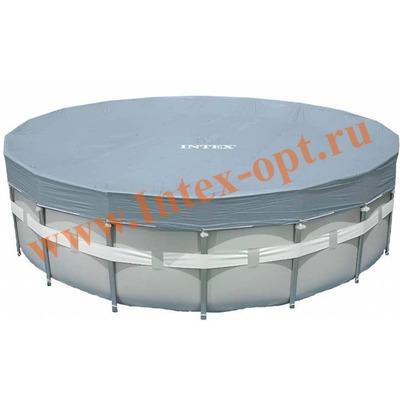 INTEX 28040(57901) Тент для круглых каркасных бассейнов 488 см