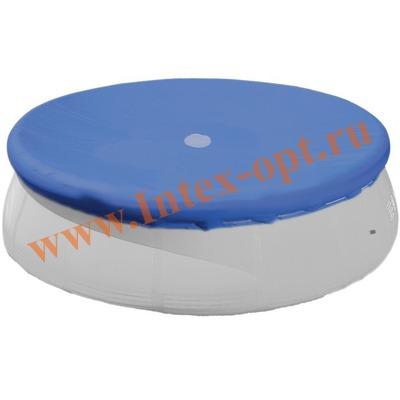 INTEX 28022(58919) Тент для круглых бассейнов с надувным кольцом (366 см)