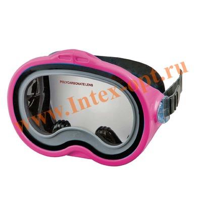 INTEX 55913 Маска для плавания Sea Scan Swim Masks (от 8 лет) розовая