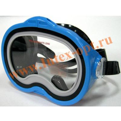 INTEX 55913 Маска для плавания Sea Scan Swim Masks (от 8 лет)синяя