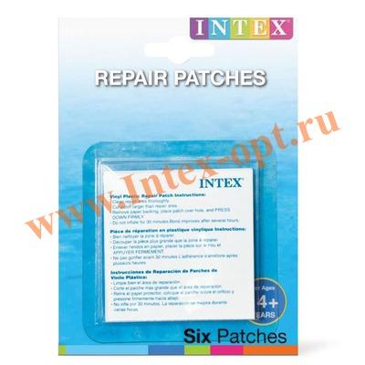 INTEX 59631 Ремкомплект 6 заплаток Repair Patches