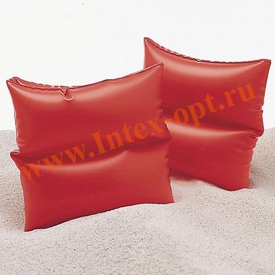 INTEX 59640 Нарукавники надувные для плавания Arm Bands 19х19 см(от 3 до 6 лет)