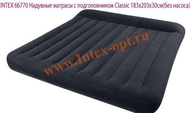P strong надувной матрас intex classic downy bed 68755 /strong- классическая модель