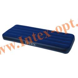 INTEX 68950 Односпальный надувной матрас CLASSIC 76х191х22см