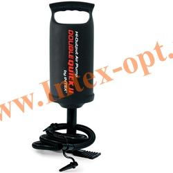 INTEX 68614 Ручной воздушный насос Double Quick 2 Hand Pump (36 см)