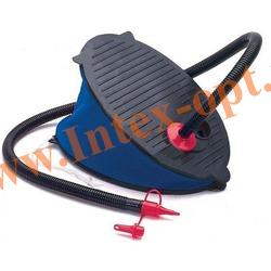 INTEX 69611 Ножной воздушный насос Bellows Foot Pump (28см)