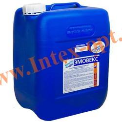 Маркопул Кемиклс (Россия) Эмовекс 20 л.(23 кг.)жидкий хлор для комплексной дезинфекции воды(новая формула)