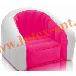 INTEX 68571 Надувное кресло 97х76х69см Розовое(без насоса)