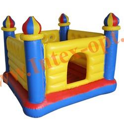 INTEX 48259 Надувной игровой центр-батут Jump-O-Lene Castle Bouncer 175х175х135 см (от 3 до 6 лет)