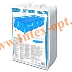 BestWay 58243 Тент солнечный для прямоугольных каркасных бассейнов 300х201х66 см