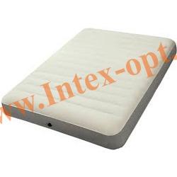 INTEX 64702 Полутороспальный надувной матрас Intex Deluxe 137х191х25см