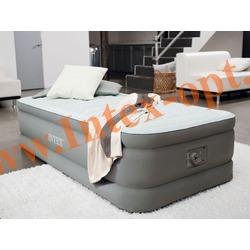 INTEX 64472 Односпальная надувная кровать PremAir 99 х 191 х 46см (со встроенным насосом 220В)