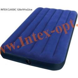 INTEX 68949 Полутораспальный надувной матрас CLASSIC 120х191х22см