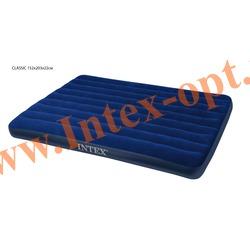 INTEX 68759 Двухспальный надувной матрас CLASSIC 152х203х22см