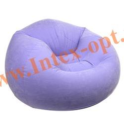INTEX 68569 Надувное кресло 107х104х69см Фиолетовое (без насоса)