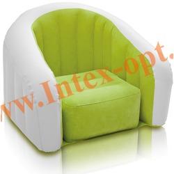 INTEX 68571 Надувное кресло 97х76х69см Салатовое(без насоса)