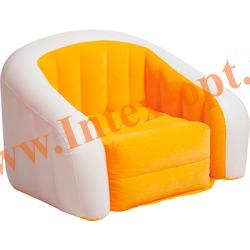 INTEX 68571 Надувное кресло 97х76х69см Оранжевое(без насоса)