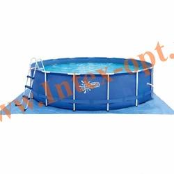 Summer Escapes Бассейн на опорах 366х132 см (лестница, настил, тент)