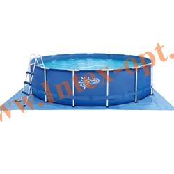 Summer Escapes Бассейн на опорах 396х132 см (лестница, настил, тент)