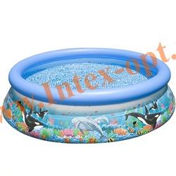 "INTEX 28134(54904) Бассейн надувной ""Ocean Reef"" 366х76см"