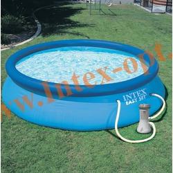 INTEX 28112-A(56972) Бассейн надувной 244х76см с фильтр-насосом 2 м3/ч 220 В