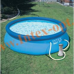 INTEX 28122-Н Бассейн надувной 305х76 см с фильтр-насосом 1.25 м3/ч 220 В