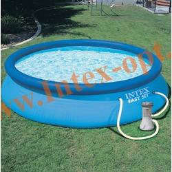 INTEX 28132(56422) Бассейн надувной 366х76 см с фильтр-насосом 2 м3/ч 220 В