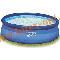 INTEX 28143 Бассейн надувной 396х84см