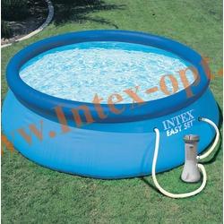 INTEX 28142 Бассейн надувной 396х84см с фильтр-насосом 2 м3/ч 220В