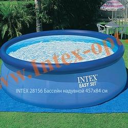 INTEX 28156 Бассейн надувной 457х84 см