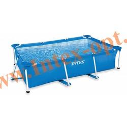 INTEX 28272(58981) Бассейн с металлическим каркасом 300х200х75 см