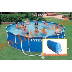 INTEX 11413 Чаша для круглых каркасных бассейнов Metal Frame 457х122 см