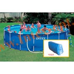 INTEX 10767 Чаша для круглых каркасных бассейнов Metal Frame 732х132 см