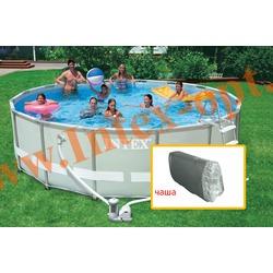 INTEX 11080 Чаша для круглых каркасных бассейнов ULTRA FRAME 488х122 см